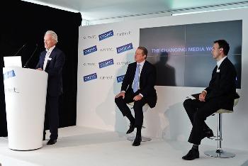 Al Gore with Peter Scott and Morgan Holt